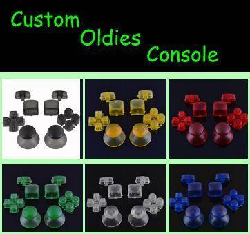 voici les kits de boutons transparents pour ps3 a vendre. Black Bedroom Furniture Sets. Home Design Ideas